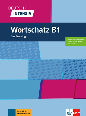 Cover Deutsch intensiv Wortschatz B1 978-3-12-675076-9 Deutsch als Fremdsprache (DaF)